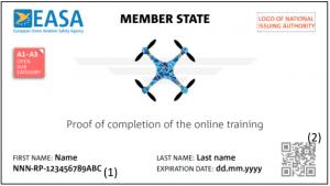 EU Drohnenführerschein - Kompetenznachweis