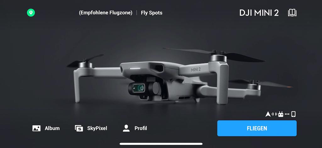DJI Fly-App