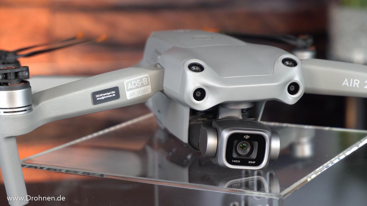 Drohnenkennzeichen Plakette DJI AIR 2S
